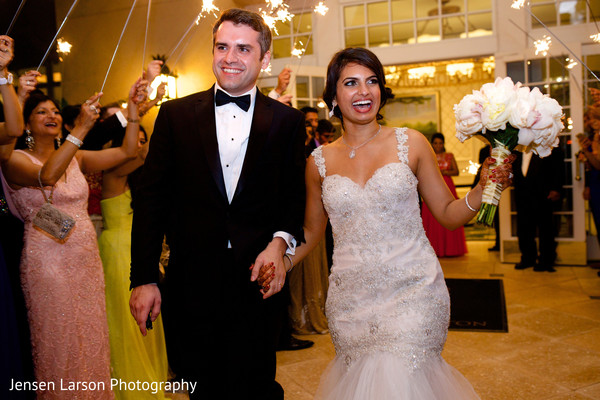 Reception in Orlando, FL Indian Fusion Wedding by Jensen Larson Photography