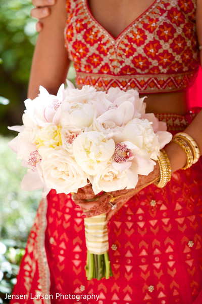 indian bridal bouquet