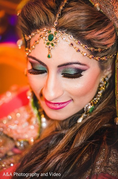 Makeup in Mahwah, NJ Pakistani Wedding by A&A Photography and Video