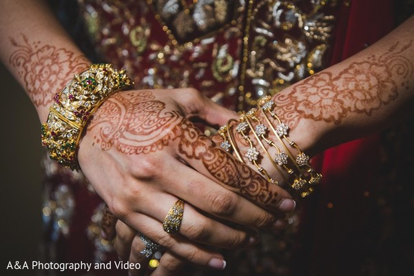 Mehndi in Mahwah, NJ Pakistani Wedding by A&A Photography and Video