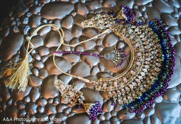 Bridal Jewelry in Mahwah, NJ Pakistani Wedding by A&A Photography and Video