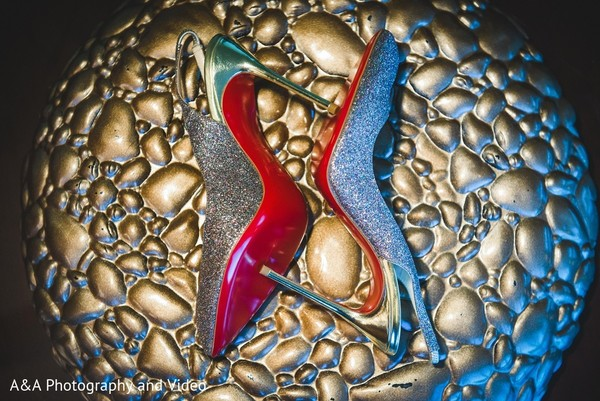 Shoes in Mahwah, NJ Pakistani Wedding by A&A Photography and Video