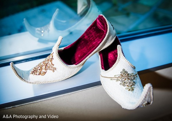Groom Accessories in Mahwah, NJ Pakistani Wedding by A&A Photography and Video