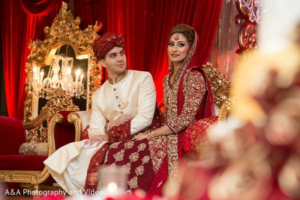 Wedding Portrait in Mahwah, NJ Pakistani Wedding by A&A Photography and Video