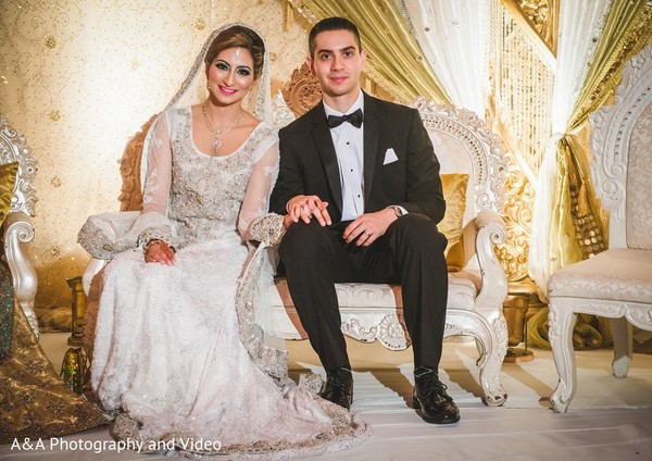 Valima Portrait in Mahwah, NJ Pakistani Wedding by A&A Photography and Video