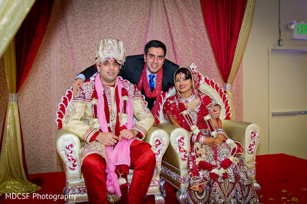 Ceremony in Livermore, CA Indian Wedding by MDCSF Photography