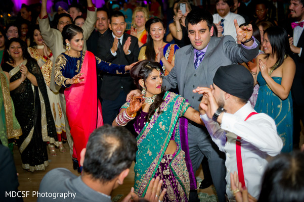 Reception in Livermore, CA Indian Wedding by MDCSF Photography