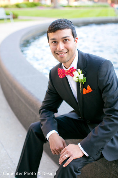 Reception Portraits in Indianapolis, IN Indian Wedding by Carpenter Photo & Design