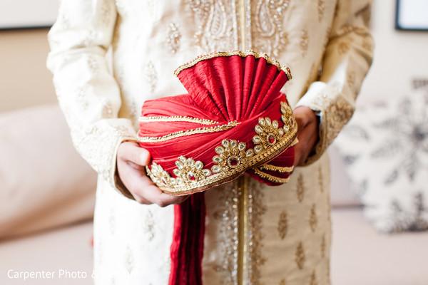 getting ready,pagri,groom fashion,headpiece