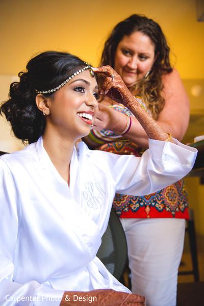 getting ready,hair and makeup,tikka,mehndi