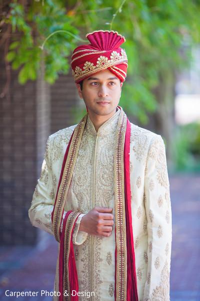 groom fashion,pagri,headpiece,sherwani,first look,first look portraits