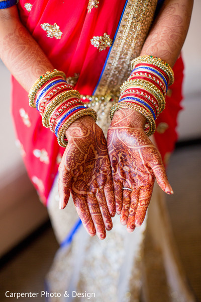 Getting Ready in Indianapolis, IN Indian Wedding by Carpenter Photo & Design