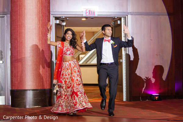 Reception in Indianapolis, IN Indian Wedding by Carpenter Photo & Design