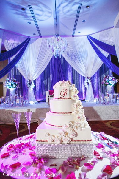 Cakes & Treats in Indianapolis, IN Indian Wedding by Carpenter Photo & Design
