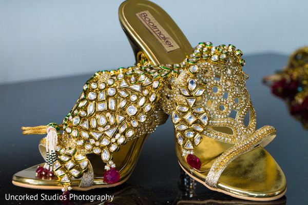 Shoes in Philadelphia, PA Indian Wedding by Uncorked Studios Photography