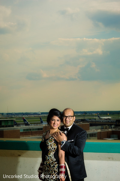 Reception Portraits in Philadelphia, PA Indian Wedding by Uncorked Studios Photography