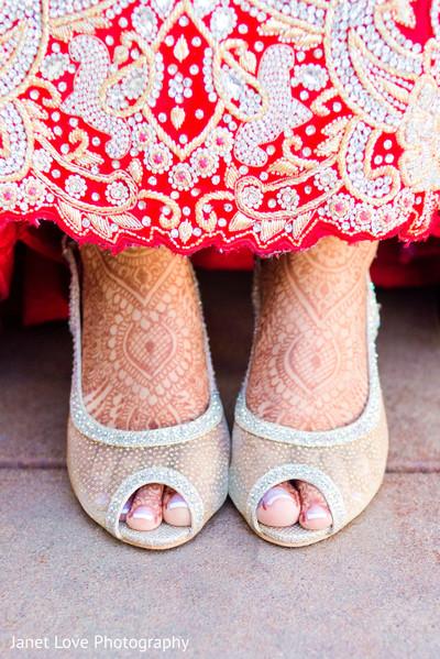 shoes,mehndi