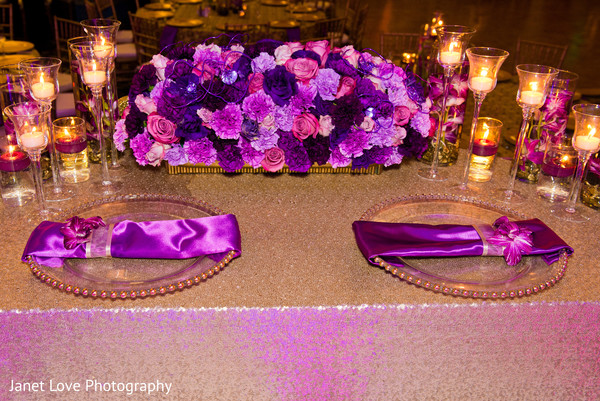 indian wedding reception,reception,reception decor,floral arrangements,flowers,table settings