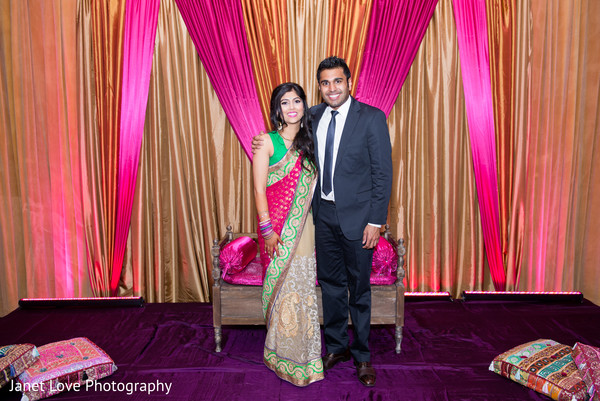 Sangeet in San Jose, CA Indian Wedding by Janet Love Photography