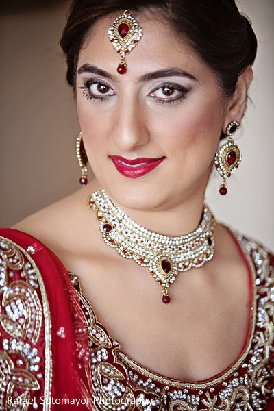 Bridal Makeup For Destination Wedding : San Juan, PR Indian Destination Wedding by Rafael ...