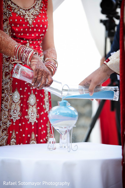 Ceremony in San Juan, PR Indian Destination Wedding by Rafael Sotomayor Photography