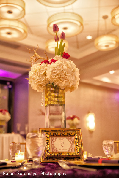 Floral & Decor in San Juan, PR Indian Destination Wedding by Rafael Sotomayor Photography