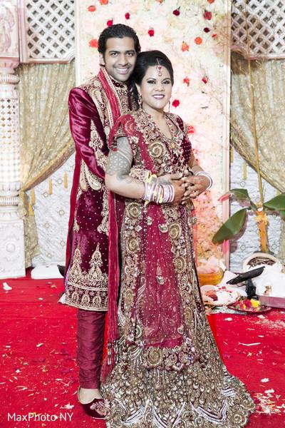 ceremony portraits,bridal lengha,lengha,sherwni