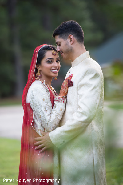 Wedding Portrait in Birmingham, AL South Asian Wedding by Peter Nguyen Photography