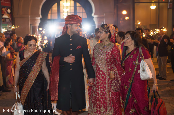 Ceremony in Birmingham, AL South Asian Wedding by Peter Nguyen Photography