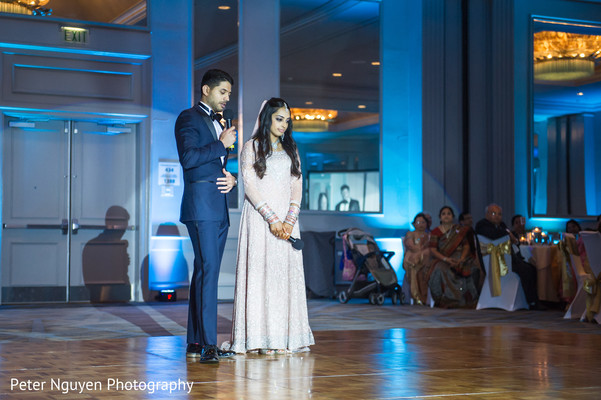 Reception in Birmingham, AL South Asian Wedding by Peter Nguyen Photography