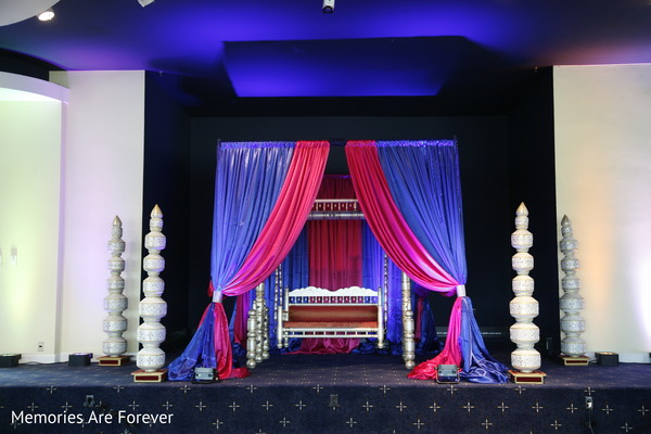 Pre-Wedding Decor in St. Louis, MO Indian Wedding by Memories Are Forever