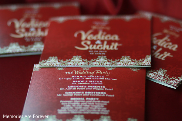 Wedding Stationery in St. Louis, MO Indian Wedding by Memories Are Forever