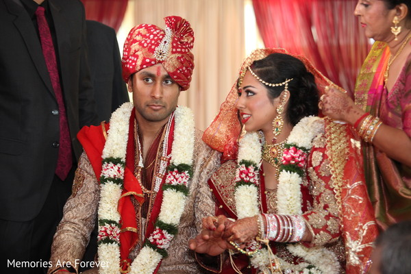 Ceremony in St. Louis, MO Indian Wedding by Memories Are Forever