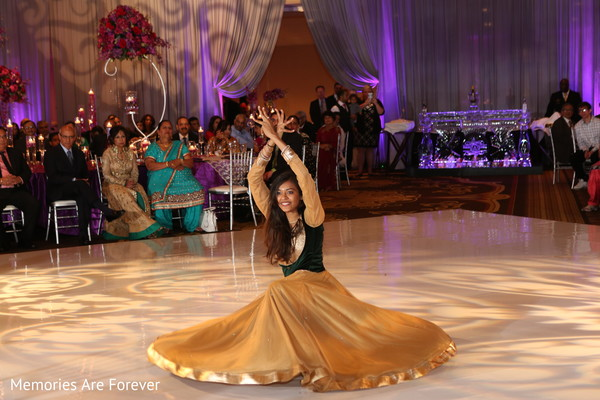 Reception in St. Louis, MO Indian Wedding by Memories Are Forever