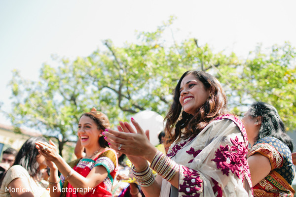 Baraat in Malibu, CA Indian Fusion Wedding by Monica Wang Photography