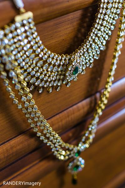 bridal jewelry,gold bridal set,necklace