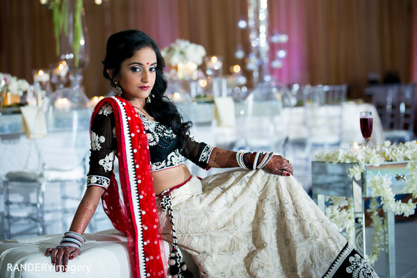 indian fusion wedding reception,reception lengha,indian bridal hair and makeup,indian wedding lengha