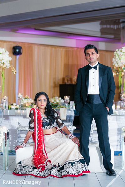 indian fusion wedding reception,reception lengha,indian weddings,indian bridal hair and makeup,indian wedding lengha