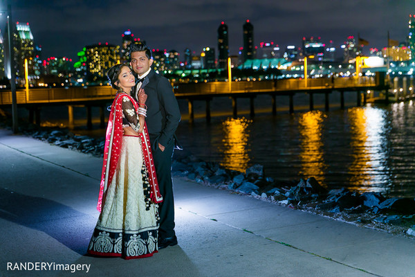 Reception Portraits in San Diego, CA Indian Wedding by RANDERYimagery