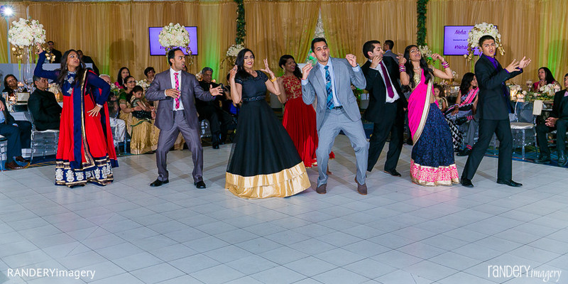 Reception in San Diego, CA Indian Wedding by RANDERYimagery