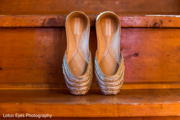 Shoes in New Vrindaban, WV Indian Wedding by Lotus Eyes Photography
