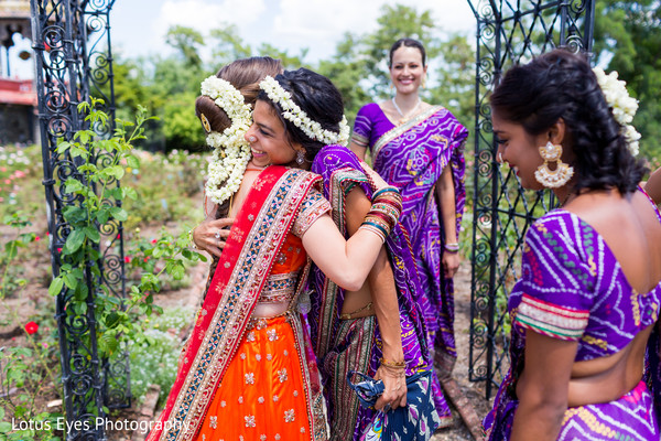 Bridal Party in New Vrindaban, WV Indian Wedding by Lotus Eyes Photography