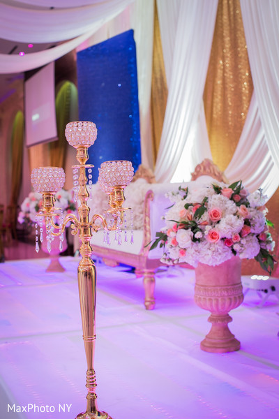 Reception in Queens, NY Indian Wedding by by MaxPhoto NY