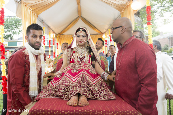 Indian Wedding Ceremony in Queens, NY Indian Wedding by by MaxPhoto NY