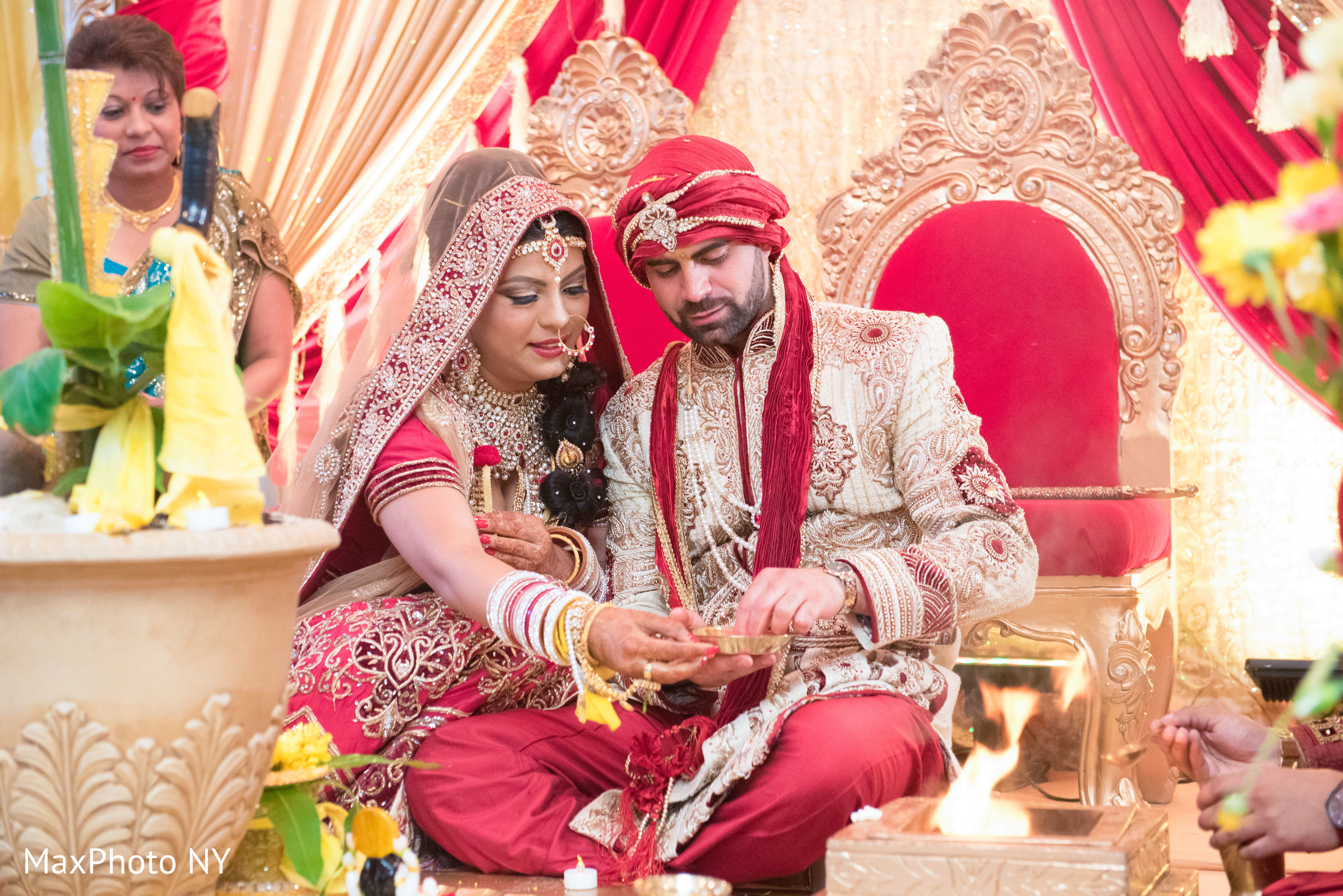 Indian wedding ceremony in queens ny indian wedding by by for Indian jewelry in schaumburg il