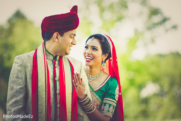 indian wedding first look,indian wedding portraits,indian wedding first look portraits,indian bridal hair and makeup