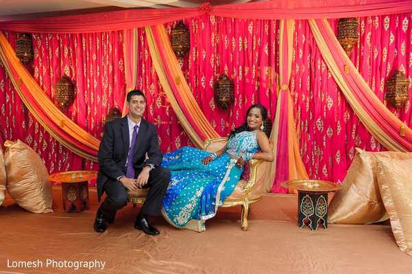 indian sangeet,indian pre-wedding fashion,indian wedding party portraits,indian wedding floral and decor,indian weddings,indian wedding lengha