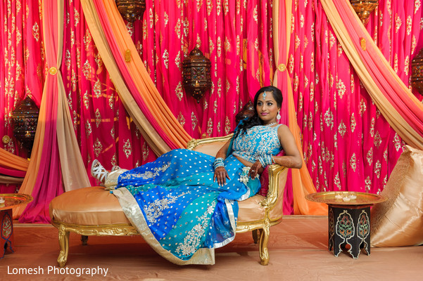 indian pre-wedding fashion,indian wedding party portraits,indian wedding floral and decor