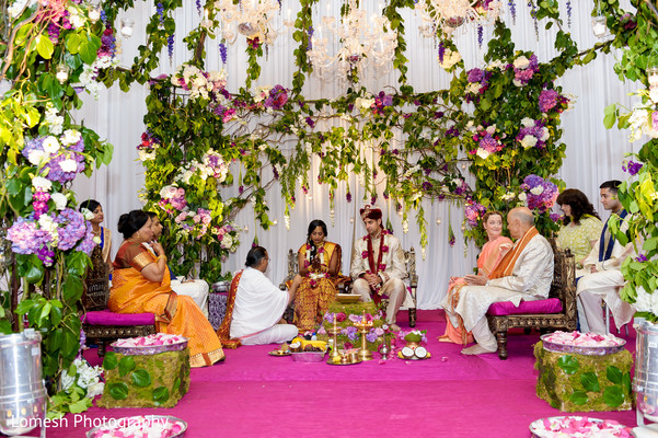 Hindu Wedding Ceremony in Dallas, TX Indian Wedding by Lomesh Photography