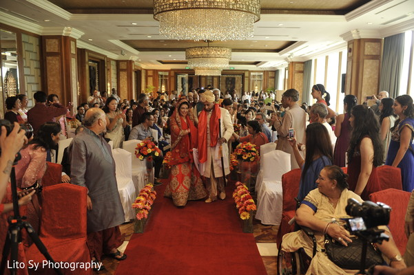 Ceremony in Cebu, Philippines Indian Destination Wedding by Lito Sy Photography